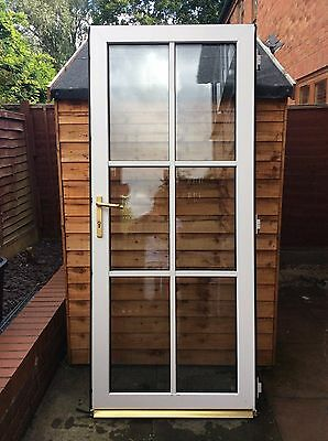 Fully Glazed Pvcu Door With Frame And Sill Picclick Uk