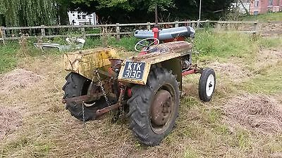 Nuffield 4/25 Mini tractor (SOLD SUBJECT TO PAYMENT AND COLLECTION)