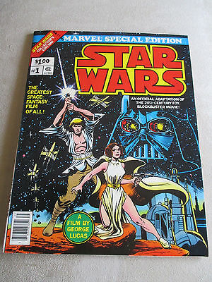 Marvel Special Edition  Star Wars #1 (1977) #2 (1978) oversize