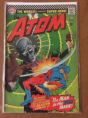 THE ATOM Issue #25 DC Comics Comic Book Silver Age, VG+