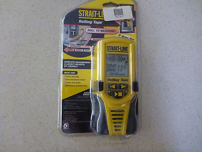 Strait-Line Rolling Tape - Electronic tape measure