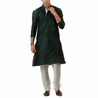 Readymade Designer Indian Kurta Bollywood Men's Sherwani Churidar Ethnic Wedding
