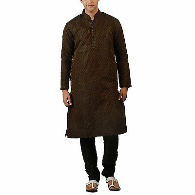 Indian Kurta Bollywood Men's Sherwani Churidar Ethnic Readymade Wedding Designer