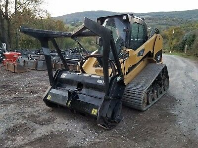 2008 Bobcat T320 Skid Steer Fully Loaded High Flow Forestry Mulcher Ready 2 Work