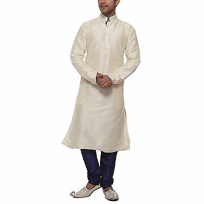 Designer Indian Kurta Bollywood Men's Sherwani Churidar Ethnic Wedding Readymade