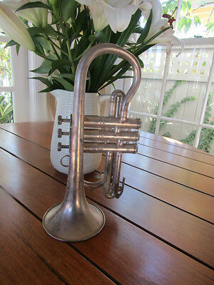 """~Vintage~Trumpet~""""Boosey and Hawkes"""" England Imperial"""" ~Engraved~1980~"""