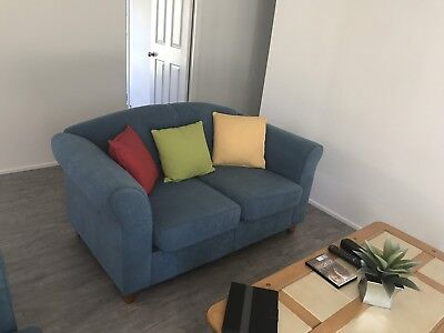 Two Seater Sofas X 2 Incl. Cushions