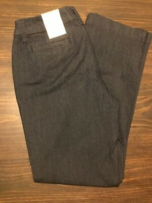 0cff285b028 St Johns Bay Womens Pants 4P Rinse Secretly Slender Classic NWT JCP10