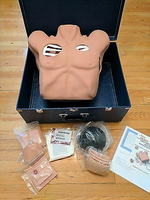 Nasco Lifeform Chest Tube Practice Manikin with Manual and Parts