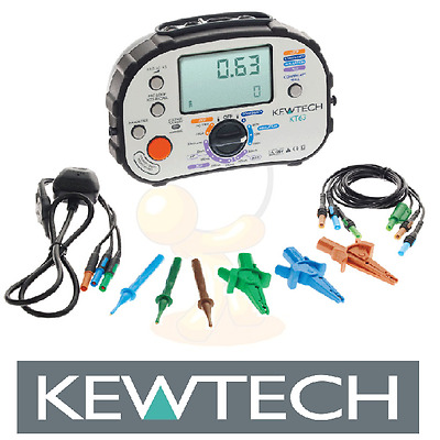 Kewtech KT63 Digital 5-in-1 Multifunction Tester 17th Edition Brand New