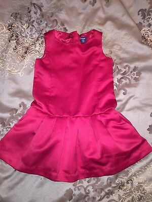 Baby Gap Red Toddler Girl Party Dress 2