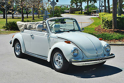 1979 Volkswagen Beetle - Classic Huge Summer SALE 30% OFF Call for Details! 1979 VW Beetle Convertible 56,041 Original Miles! Call Dan at 863-370-6712
