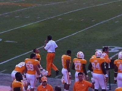 2 TENNESSEE vs INDIANA STATE Football Tickets 20 YD LINE