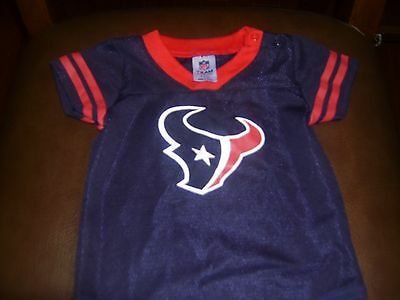 Infant Houston Texans one piece outfit