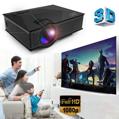 UNIC UC46 Full HD 3D Heimkino Beamer WiFI Theater Cinema LCD LED Projektor