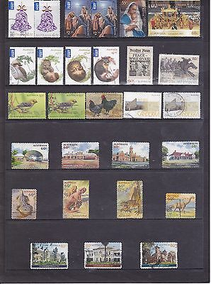 2013 Australian-28 used stamps including International Post and Sheet