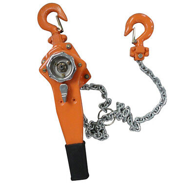 3/4 Ton Lever Block Hoist Lift Winch Chain Ratcet Ratcheting Comealong