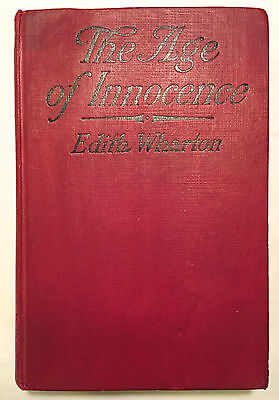 The Age of Innocence - Edith Wharton True 1st Edition 1st Printing HC 1920 RARE