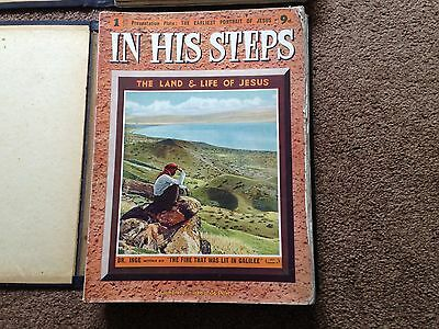 """in His Steps: The Land & Life Of Jesus"" - 1939 Complete Magazine Collection"