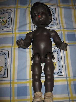 Vintage Roddy Doll approx 36 cm with original Roddy Shoes