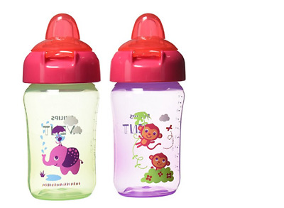 Baby Feeding Drinking Bottle and Cup  Sippy Suction Baby Child Philips AVENT 2pc