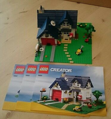 Lego creator haus mit garage 5891 3 in 1 top eur 35 for Modernes lego haus