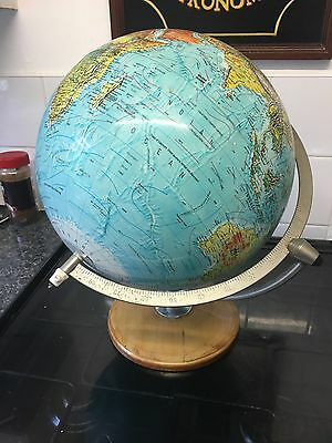 Vintage Scan Globe Danish World Globe
