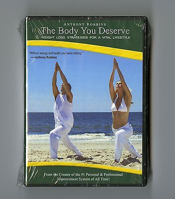 The Body You Deserve - Anthony Robbins 10 cd's New