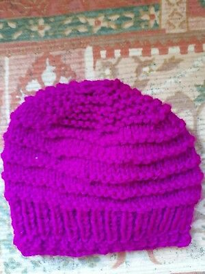 Hand knitted baby hats premature