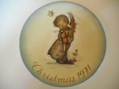 Schmid 1971 Christmas Limited First Edition Collector Plate