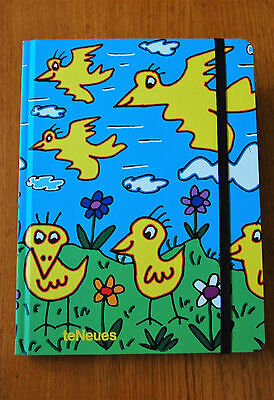"James Rizzi Blankbook ""Strictly for the birds"" Notizbuch 16  22 cm 2004 Te Neues"