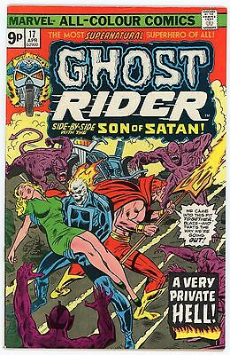 Ghost Rider #17 | 1976 (Son of Satan) | Marvel (Bronze Age Comic)