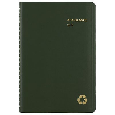 At-A-Glance 70100G6009 Recycled Weekly/monthly Appointment Book, 4 7/8 X 8,