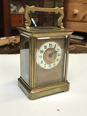 Vary Good Quality Edwardian French Brass Carriage Clock. Open To Offers?