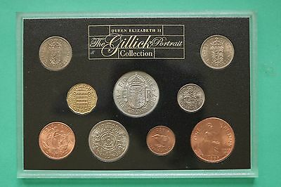 Royal Mint Mary Gillick Portrait collection year set UNC coin set SNo45407