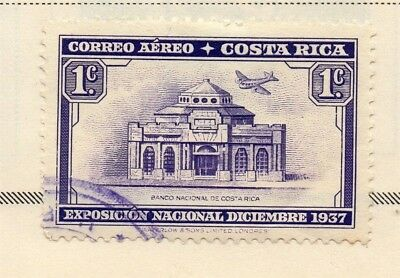 Costa Rica 1937 Early Issue Fine Used 1c. 168252