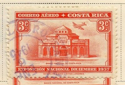Costa Rica 1937 Early Issue Fine Used 3c. 168248
