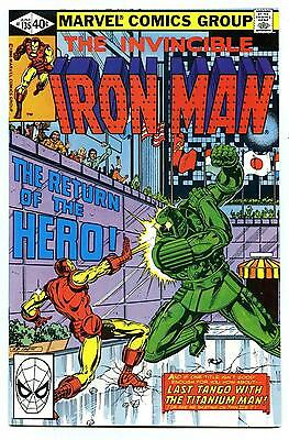Iron Man #135 - Titanium Man App - Marvel - 1980 - NM