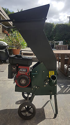 Masport chipper shredder 5HP Briggs & Stratton Twin Blades
