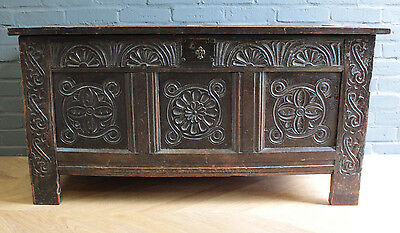 Jacobean Oak Blanket Box