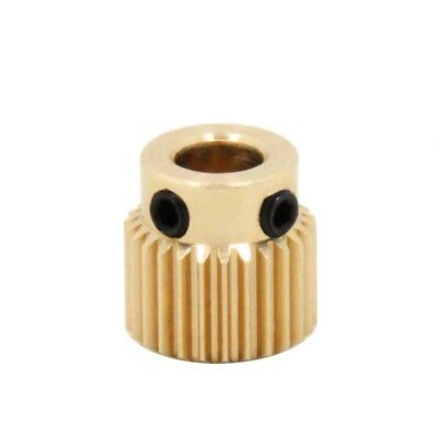 MK8 Extruder 26 Teeth Brass Drive Gear Feedstock Wheel OD11mm 3D Printer Part