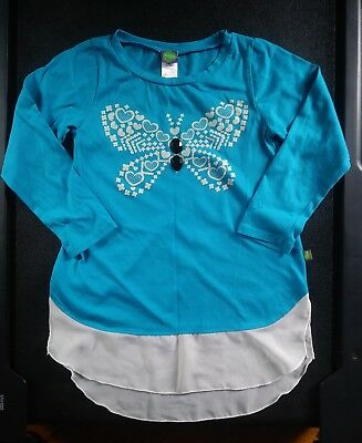 """Girls Tunic Top Size 8 Dolly and Me """"Butterfly"""""""