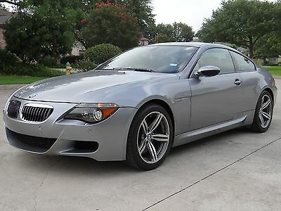 2007 BMW M6 Coupe BMW M6 Coupe 5.0L V10 SMG Low Miles
