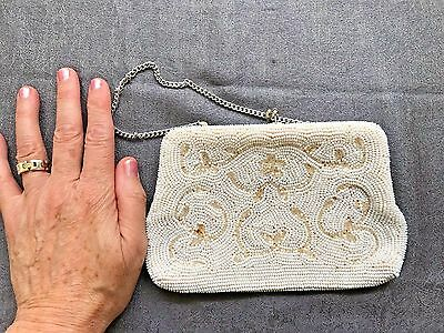 1930s ViNTAGE BEADED EVENING BAG ~ Made in Japan-