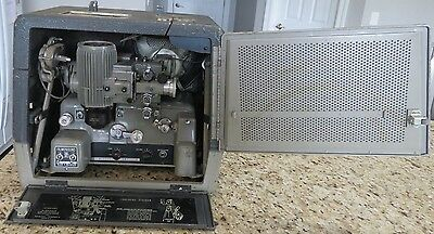 Vintage Bell & Howell Filmosound Film Projector Model 385- Untested