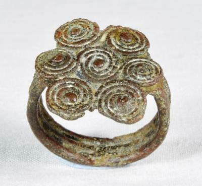 Mediaeval Bronze Ring 13th to 15th Century Wearable Mans Size
