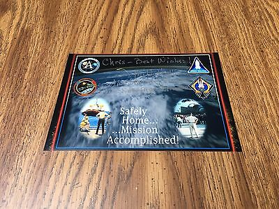 J Milt Heflin Signed 5X7! Oversaw Recovery Of Apollo 11 Moon Landing In Water!
