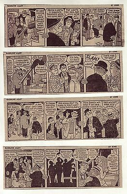 Gasoline Alley by Dick Moores - 10 daily comic strips from October 1968