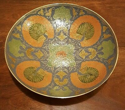 Large Cloisonne Bowl in stunning condition
