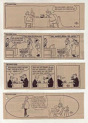 The Born Loser by Art Sansom - 26 daily comic strips - Complete September 1972